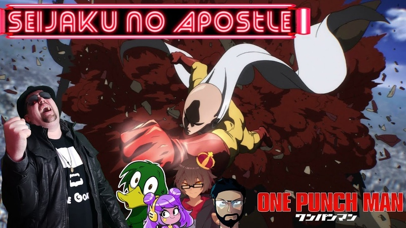 Seijaku no Apostle (One Punch Man OP 2) ENGLISH Cover -GoateeSwibletMopTopMattHiragaAuron530