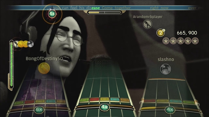 Come Together by The Beatles Full Band FC 4485