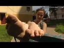 City-Feet - A girl with plaited hair - Valya [4]