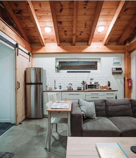 Как я люблю деревянные элементы в интерьере!