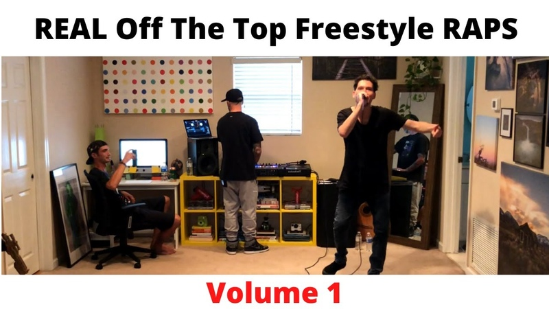 REAL Off The Top Freestyle Rap Sessions Volume 1 GADJET