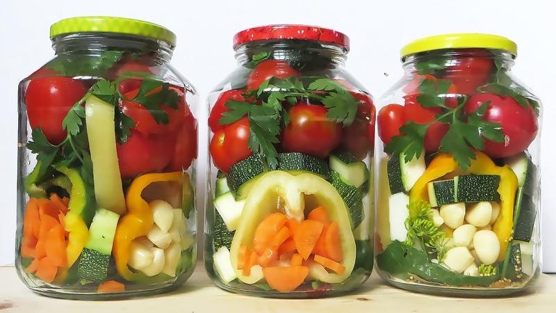 ЗИМОЙ ОБЛИЖЕШЬ ПАЛЬЧИКИ! Овощное Ассорти на Зиму ВКУСНЫЙ СОСТАВ Ассорти из овощей на зиму САЛАТ