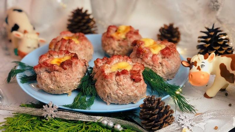 НОВОЕ ГОРЯЧЕЕ Мясные Мешочки СЧАСТЬЯ ПАЛЬЧИКИ ОБЛИЖЕШЬ Блюдо на праздничный Новогодний стол