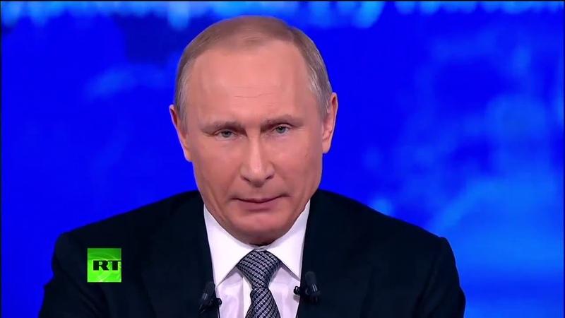Алина: С Америкой справится только В.В. Путин? (Прямая линия 14.04.2016)