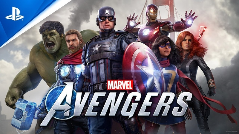 Мстители Marvel Общий сбор PS4