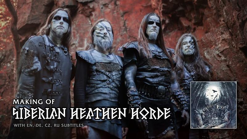 Making Of Siberian Heathe Horde album with EN DE CZ RU subtitles